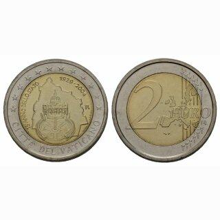 Vatikan 2 Euro 2004 75 Jahre Vatikan Gedenkmünze BILD