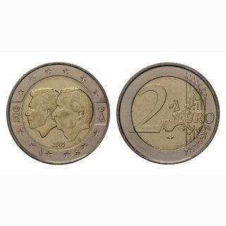 Belgien 2 Euro 2005 Ökonomische Union Gedenkmünze