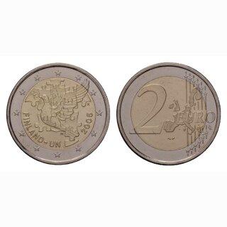 Finnland 2 Euro 2005 50 Jahre UN Gedenkmünze