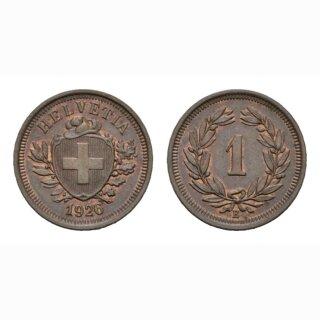 Schweiz 1 Rappen 1926 B