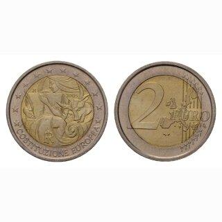 Italien 2 Euro 2005 Europäische Verfassung Gedenkmünze