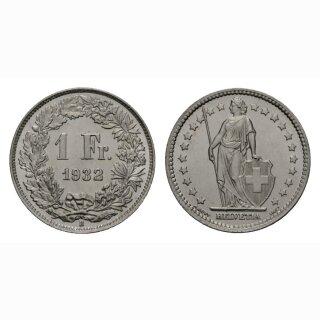 1 Franken 1932 B Schweiz