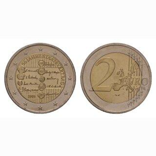 Österreich 2 Euro 2005 Staatsvertrag Gedenkmünze
