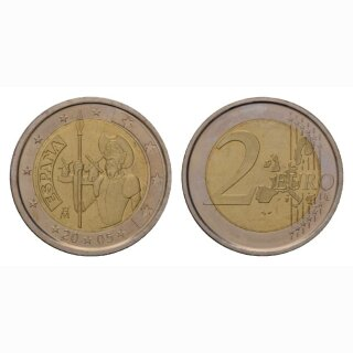 Spanien 2 Euro 2005 Don Quichotte Geddenkmünze