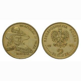 Polen 2 Zloty 1999 Wladyslaw