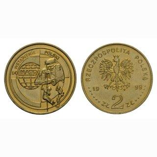 Polen 2 Zloty 1999 NATO