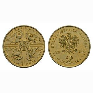Polen 2 Zloty 2000