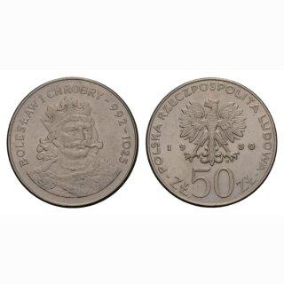 Polen 50 zlotyy 1980 Boleslaw I