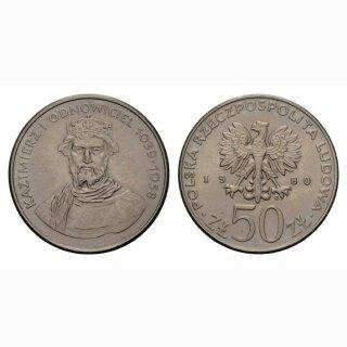 Polen 50 Zloty 1980 Kazimierz I