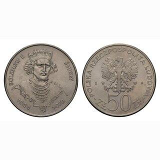 Polen 50 Zloty 1981 Boleslaw II