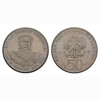 Polen 50 Zloty 1983 Jan III
