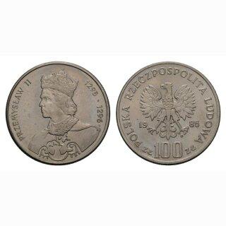 Polen 100 Zloty 1985 Przemyslaw II