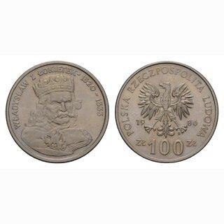 Polen 100 Zloty 1986 Wladyslaw I