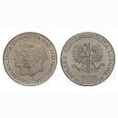 Polen 200 Zloty 1975 30 Jahre Victory Over  Silber