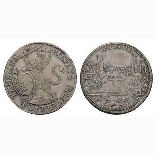 Zürich 1/2 Taler 1745 Stadt HMZ 2-1165qq