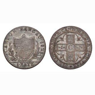 Aargau 1 Batzen 1826 HMZ 2-23