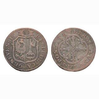 Genf 3 Sols 1791 HMZ 2-347g