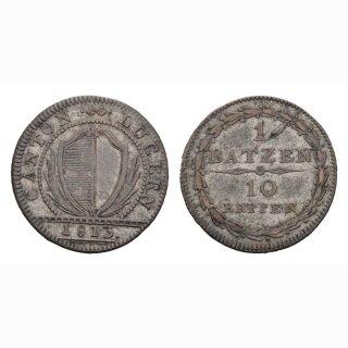 Luzern 1 Batzen 1813 HMZ 2-673j