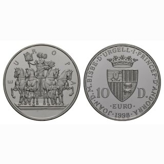 Andorra 10 Diners 1998 Europa