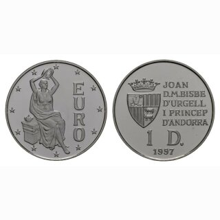 Andorra  10 Diners 1997 Europa