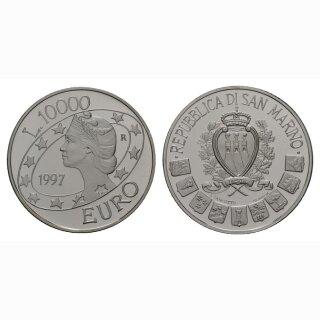 10000 Lire  1997 Euro Libertas