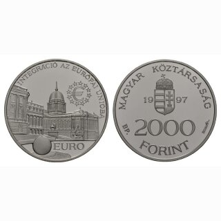 Ungarn 2000 Forint 1997 Europäische Union