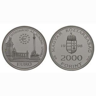 Ungarn 2000 Forint 1998 Europäische Union