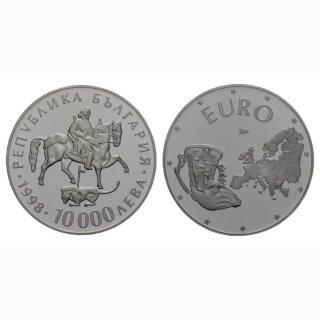 Bulgarien 10000 Leba 1998 Europäische Union