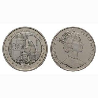 Isle of Man 10 Euro  1997 Niederland Präsident von EU