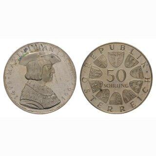 Oesterreich 50 Schilling 1969 Maximilian I 1493-1519