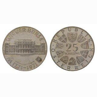 Oesterreich 25 Schilling 1971 Wiener Börse