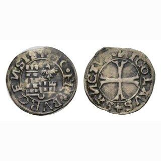 Freiburg  Kreuzer  o. J. um 1530 Kantonsmünze