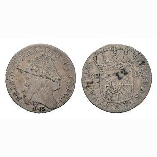 Neuenburg 10 Kreuzer 1713 Kantonsmünze