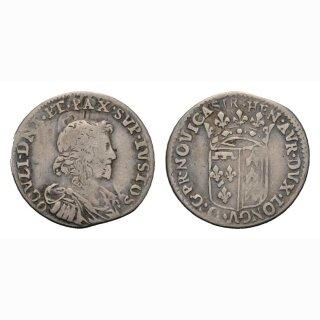 Neuenburg 10 Kreuzer (1/12 ECU) o. J. um 1648 Kantonsmünze