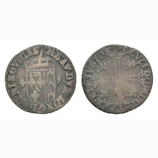 Neuenburg Halbbatezn 1649 Kantonsmünze
