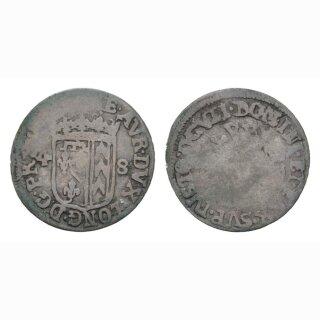 Neuenburg Halbbaten 1648 Kantonsmünze
