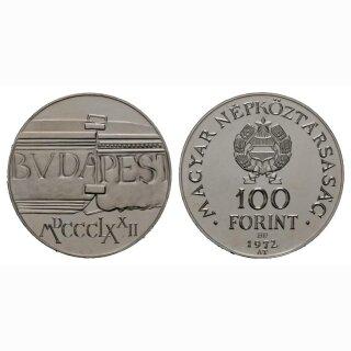 Ungarn 100 Forint 1972 Budapest