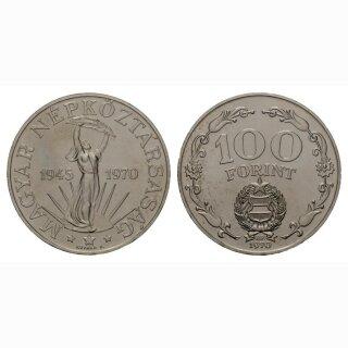 Ungarn 100 Forint 1970 25 Jahre Befreiung