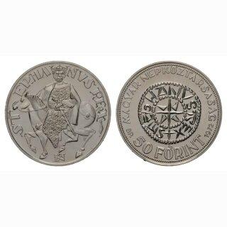 Ungarn 50 Forint 1972 1000. Jahre St. Stephan