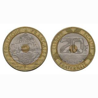 Frankreich 20 Francs 1993