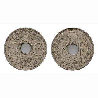 Frankreich 5 Centimes 1935