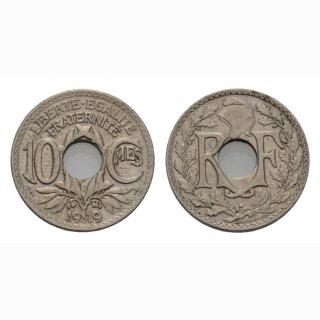 Frankreich 10 Centimes 1919