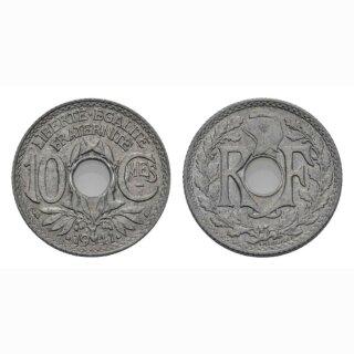 Frankreich 10 Centimes 1941