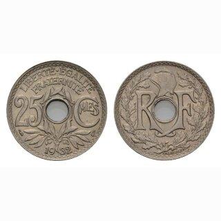 Frankreich 25 Centimes 1932