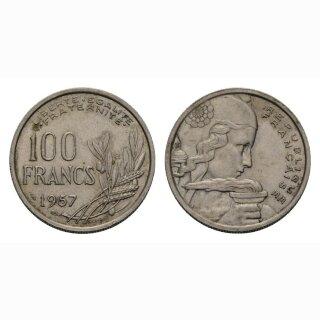 Frankreich 100 Francs 1957