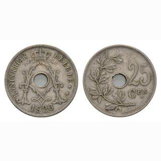 Belgien 25 Centimes 1926