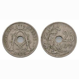 Belgien 25 Centimes 1928