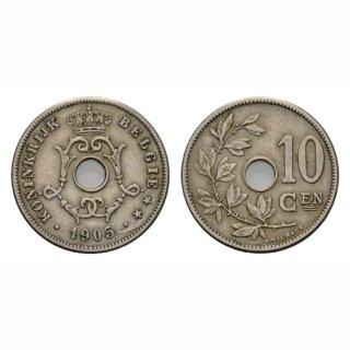 Belgien 10 Centimes 1905