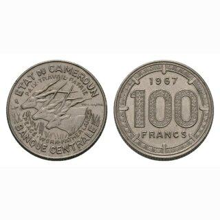 Kamerun 100 Francs 1967
