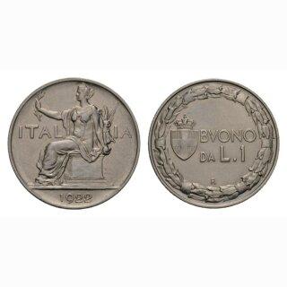 Italien Lire 1922 R